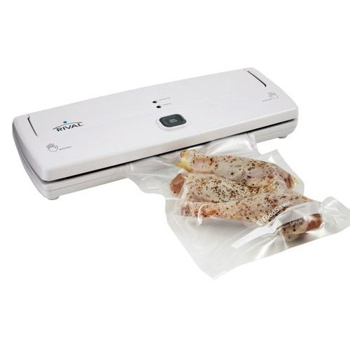 Rival FSFGSL0150-015 3 Step Vacuum Sealer w/ Bag Starter Kit
