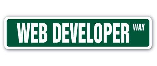 [SignJoker] WEB DEVELOPER Street Sign design website designer site internet gift programmer Wall Plaque Decoration
