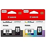 canon ink cartridge pg-89 black & cl-99 colour combo