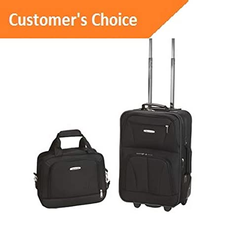 Amazon.com | Sandover Rockland Unisex 2 Piece gage Set F102 | Model LGGG - 11972 | | Luggage Sets
