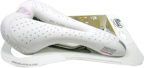 selle ITALIA Diva Gel Flow Women's Bicycle Saddle (Vanox Rails)