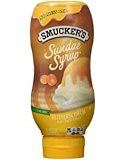 Smucker's Sundae Syrup: Butterscotch (Pack of 2) 20 oz Size