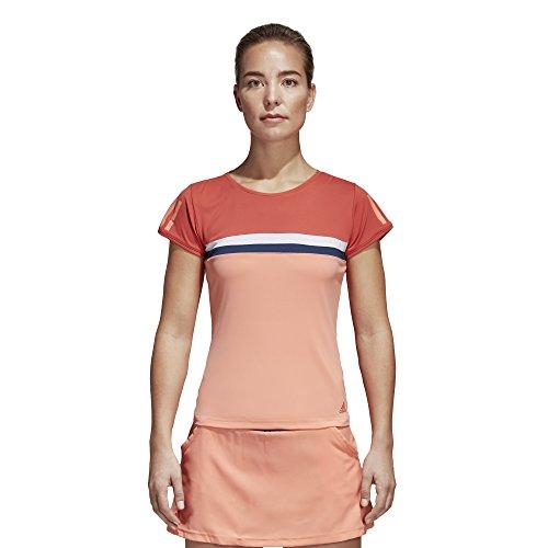 adidas Club–Camiseta Trace Scarlet