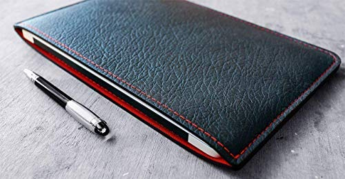 Classic Sleeve for Apple MacBook and MacBook Pro, Personalized, Black/Red. (GQ 100 BEST THINGS IN THE WORLD, 2018) - Wool Stitched