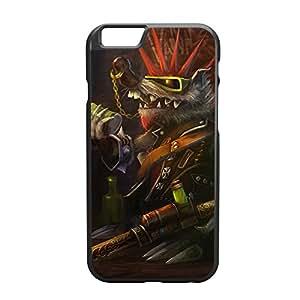 Twitch-002 League of Legends LoL case cover for Apple iPhone 6 Plus - Plastic Black