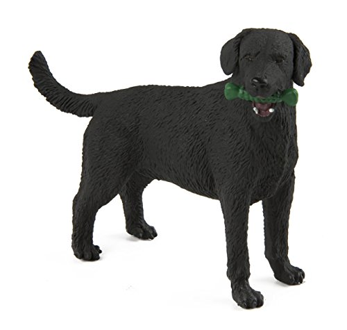 Black Labrador Retriever Figurine - Safari Ltd. Best in Show - Black Labrador - Realistic Hand Painted Toy Figurine Model - Quality Construction from Phthalate, Lead and BPA Free Materials - For Ages 3 and Up