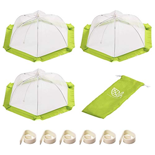 - Food Tent Covers that Won't Blow Away (3 Pack) | Large Mesh Net Food Covers for Outdoors and Indoors | Food Covers from Flies and bugs | Food Tents for Picnics, Parties and BBQ | Home and Harmony Inc.