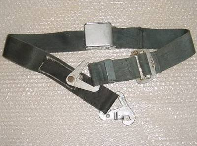 - Aircraft Cessna, Piper, Beech Seat Belt, Blue, 1101021-4