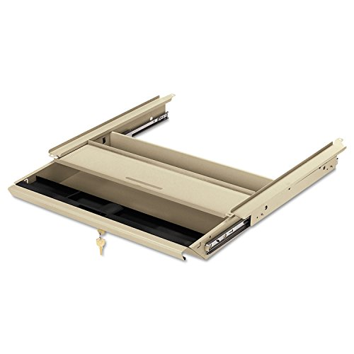38000 Series - lovithanko HON D2L Center Drawer w/Core Removable Locks, 38000 Series, 19 x 14-3/4 x 3, Putty