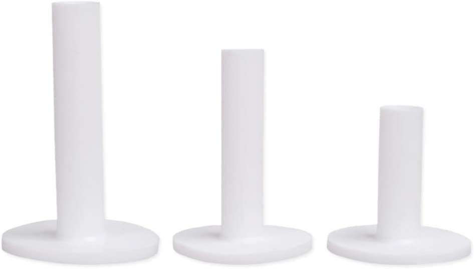 """HOW TRUE 6 Pcs Golf Rubber Tees Holder with Sizes of 2.13"""", 2.95"""",3.27"""" for Driving Range and Practice Mat"""