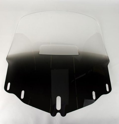 Memphis Shades MEP4871 Gradient Black Windshield (GL1800 Standard Gold Wing With Vent Hole)