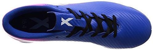 adidas X 16.4 In, Botas de Fútbol para Hombre Azul (Blue / Ftwr White / Shock Pink)