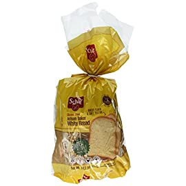 Schar Gluten Free Bread Variety Pack, 3 Count 4 Variety pack includes 2 classic white bread and 1hamburger buns Ideal for toasts, sandwiches, and snacks Gluten free, wheat free, lactose free, egg free
