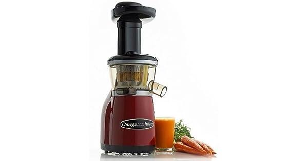 Amazon.com: Omega VRT350 exprimidora de baja velocidad, con ...