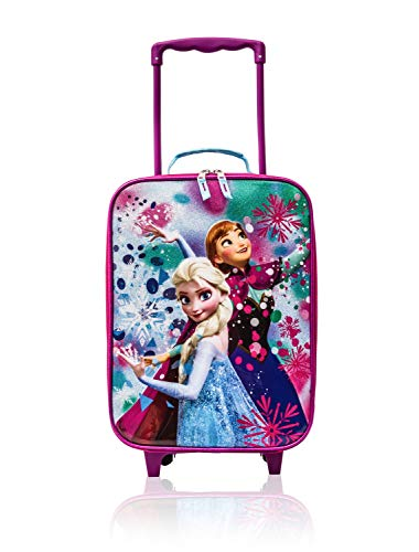 Disney Frozen Rolling Luggage Trolley [Anna and Elsa] ... (Disney Frozen Rolling Luggage)