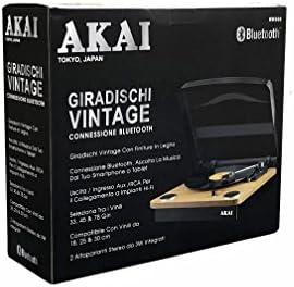 Tocadiscos AKAI RW500, Compatible 18-25-30cm, Bluetooth: Amazon.es ...