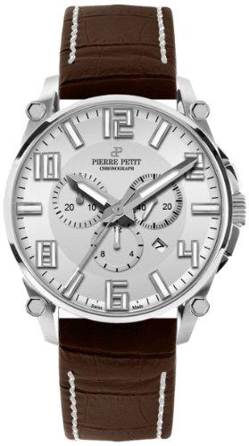 Pierre Petit P-827B - Men's Watch, Leather, Brown Tone