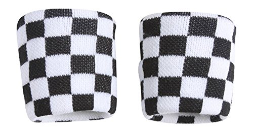 Terry Cloth 2 Pair (4 pieces) Wristbands, ()
