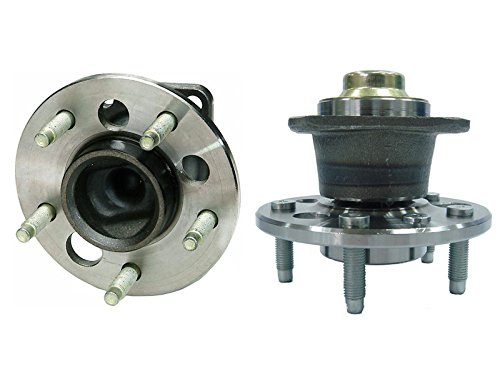 Detroit Axle - NO ABS (Both) Rear Wheel Hub and Bearing Assembly for Aztek, Grand Prix, Impala, Monte Carlo 5 Lug W/o ABS (Pair) 512221 x2