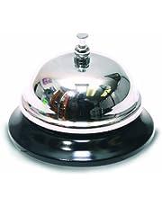 The Classics All-Metal Call Bell, Chrome Finish, No-Slip Base (TPG-343)