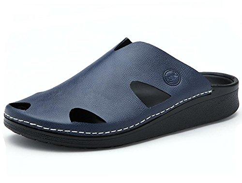 2017 nuevas sandalias del verano de los deslizadores de los hombres marea zapatillas diaria Blue