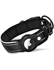 Airtag Dog Collar Holder Reflective Compatible with Airtags Tracker