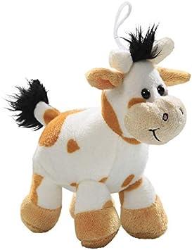 Carl Dick Peluche - Vaca, Toro de Color Bronceado (Felpa, 15cm) [Juguete] 3207002: Amazon.es: Juguetes y juegos