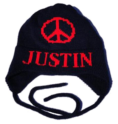 Butterscotch Blankees Customized Large Peace Sign Hat with (Peace Pale Sign)