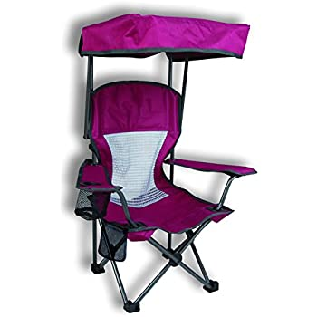 Amazon.com: Coleman Kids Folding Chair with Cup Holder and Carry Bag ...