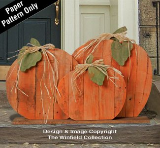 Pallet Wood Pumpkins Pattern]()