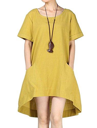 MatchLife - Jerséi - para mujer Amarillo