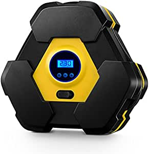 Amazon.com: Digital Electric Air Compressor Tire Inflator