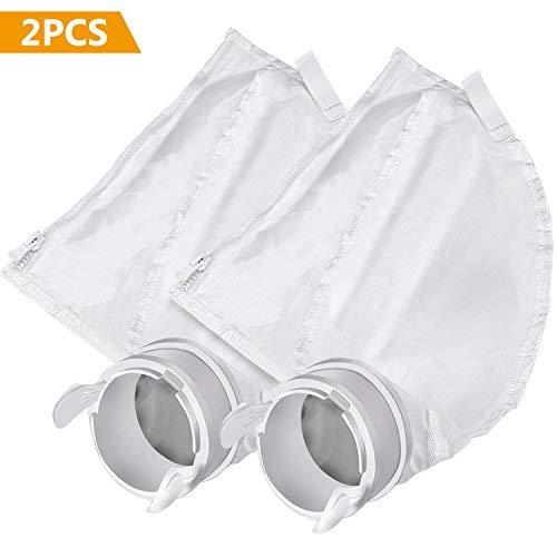 Gifort Pool Cleaner Bags Fits Polaris 280,480 - All Pursose Nylon Mesh Polaris Zipper Replacement Filter Bag K13/ K16 (2 Pack) by Gifort