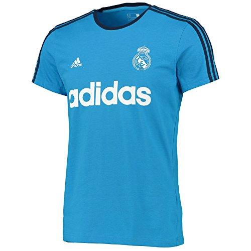 Adidas Real Gr Tee ins-maglietta Herren Azul / Blanco / Negro