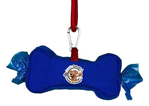 Doggie Doo All Wipes & Bags Dispenser, Royal Blue/Fire En...