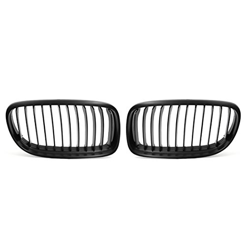 - uxcell Matte Black Front Kidney Grill Grille For 09-11 BMW E90 E91 LCI 325i 328i 335i 4Door