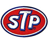 STP Oil Gas Logo Racing F1 Moto Gp Nascar Team Motorcycle Car Jacket Iron Patch