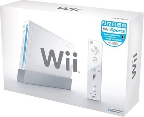 Nintendo Wii Console with Wii Sports (Certified Refurbished)
