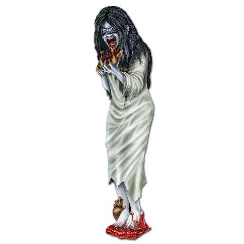 - Beistle 01245 Zombie Girl Cutout, 3-Feet