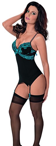 Embroidered Nylon Bustier - 2