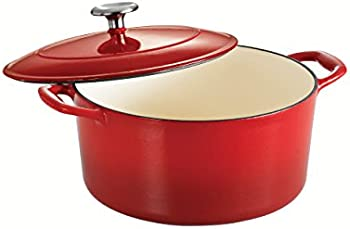 Tramontina 5.5-Qt Cast Iron Round Dutch Oven