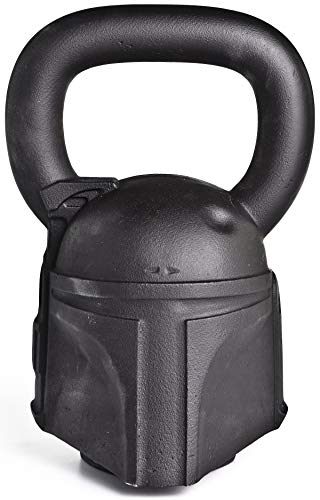 ONNIT Designer Sculpted Kettlebells - Perfectly Balanced, Built with Chip Resistant Iron (Boba Fett (50lb))