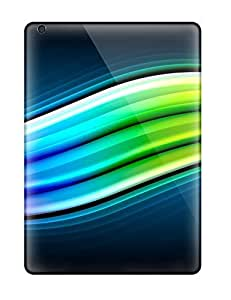 Cute Crystal R Martin Abstract 3d Green Vista Pack Case Cover For Ipad Air