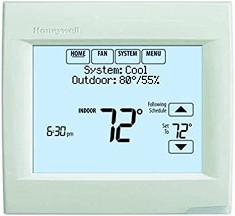 Honeywell TH8320R1003 VisionPro 8000 with RedLINK Digital Thermostat, White