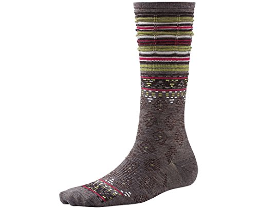 Smartwool Women's Rocking Rhombus Mid Calf Socks Large - Past Season