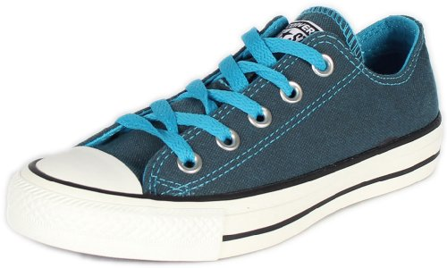 New Converse Women's Chuck Taylor Ox Sneakers Atomic Blue 6