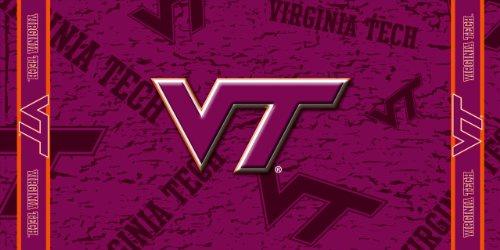 (NCAA Virginia Tech Hokies Fiber Reactive Beach)