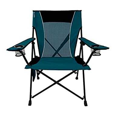 Kijaro Dual Lock Folding Chair (Cayman Blue Iguana)