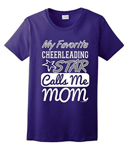 Favorite Cheerleading Calls Ladies T Shirt