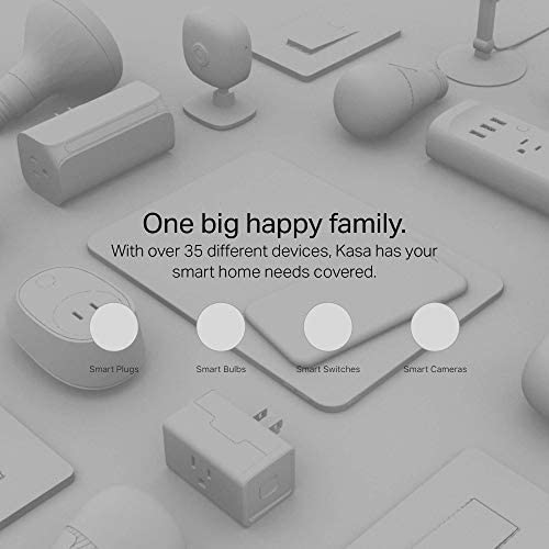 Kasa Smart HS103P2 Plug, Wi-Fi Outlet works with Alexa, Echo and Google Home, No Hub Required, Remote Control, 12 Amp, UL Certified, 2-Pack